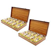 Yến sào Song Việt - Combo 2 hộp gỗ thời thượng ( loại 10 phần/ hộp)