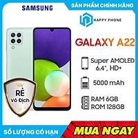 Điện thoại Samsung Galaxy A22 (6GB/128GB) - Hàng chính hãng- Đã kích hoạt bảo hành điện tử