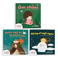 Sách Ehon - Combo 3 cuốn Buồn ngủ ơi là buồn ngủ - Dành cho trẻ từ 0 - 4 tuổi