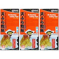 Combo 3 Hộp Giấy Thấm Dầu Kokusai GTDD09000338 (30 Tờ/Hộp)