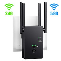 1200Mbps Wifi Repeater 802.11 AP Router Extender Signal Booster Range