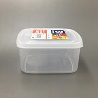 Hộp đựng thực phẩm bằng nhựa PP cao cấp 900mL hình chữ nhật - Hàng Nhật nội địa