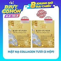 COMBO 2 HỘP MẶT NẠ COLLAGEN TƯƠI