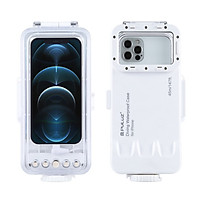 PULUZ 45m/147ft Waterproof Diving Case Underwater Photography Replacement for iphone Series iOS 13.0 or Above