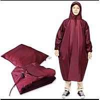 Áo Mưa bit nâng cao vải dù cao cấp ( nhiều màu )
