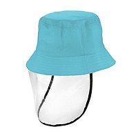 Kids Hat with Transparent Anti-dust Cover Hats Anti Sun Dustproof Outdoor Hats for Children Boys Girls Toddlers Baby