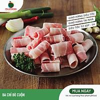 [Chỉ giao HN] - Thịt Ba Chỉ Bò Mỹ - 1Kg 2 Khay