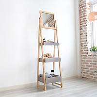 Gương Đứng Soi Trang Điểm Gỗ Hàn Quốc Mirror Hanger Nội Thất Kiểu Hàn BEYOURs