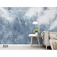 Tranh dán tường canvas hình lá ADHW022