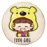 Gối Ôm Tròn Cô Bé Gấu Pooh GOCP163