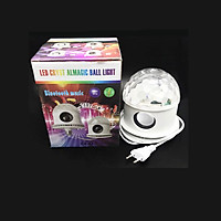 Đèn Quay Sân Khấu Magic Ball Light Bluetooth Kèm Loa Cao Cấp Có Dây Cắm Nguồn