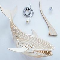 Đèn thả trần hình cá voi Jonnydecor