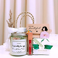 Quà LuvGift Dịu Dàng Nàng Thơ - Túi cói Vintage Luv84 quà tặng 8/3, sinh nhật, Giáng sinh, valentine
