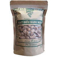Hạt điều rang muối Roasted Cashews túi giấy 2Minh 500g