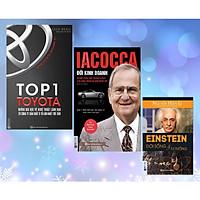 Combo Danh Nhân 3 quyển: 1.Top 1 Toyota – Những Bài Học Về Nghệ Thuật Lãnh Đạo + 2.Iacocca – Đời kinh doanh, Bí mật phía sau thành công của ông trùm xe hơi nước Mỹ + 3.Einstein – Đời Sống Và Tư Tưởng – Nguyễn Hiến Lê (Tặng Bookmark độc đáo CR)