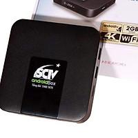 SCTV Android Box Cao cấp - Tặng Remote Voice Search ( Điều khiển giọng nói 1 chạm, Kết nối Bluetooth không dây, Hình ảnh 4K ) - Giải trí không giới hạn, xem truyền hình cực đỉnh - Hàng chính hãng