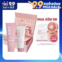 Bộ đôi kem chống nắng dành cho da mặt và cơ thể O'Muse Ultra Sunscreen 5IN1 SPF 50 PA++++