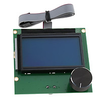 3D Printer Display Screen Controller Card And Ribbon Cable for Creality Ender 3
