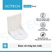 Bass vòi, giá treo vòi nước bằng nhựa dùng trong máy lọc nước (Tặng kèm ốc vít và tắc kê bắt tường) - Hàng chính hãng