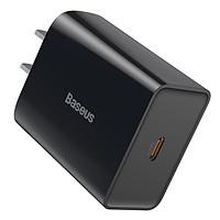 Củ sạc nhanh PD 18W USB Type C Baseus Speed Mini QC Single Type C Quick Charger - Hàng chính hãng