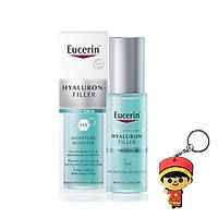 Eucerin Hyaluron Filler Moisture Booster: Tinh chất cấp ẩm, tái tạo da dành cho da lão hóa (30ml, tặng kèm móc khóa)