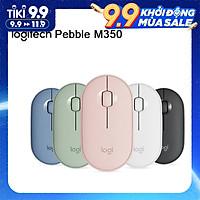 Chuột không dây Bluetooth hiện đại, mỏng và im lặng của Logitech M350 Pebble