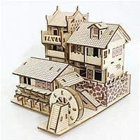 Đồ chơi lắp ráp gỗ 3D Mô hình Phượng hoàng Cổ Trấn