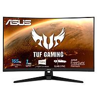 Màn Hình Cong Chuyên Game TUF Gaming VG328H1B 31,5 inch Full HD (1920x1080), 165Hz (Trên 144Hz), công nghệ Extreme Low Motion Blur, Adaptive-sync, FreeSync Premium, 1ms (MPRT) - Hàng Chính Hãng