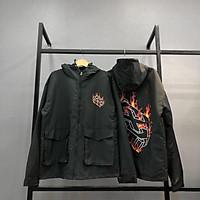 Áo khoác dù lửa túi hộp unisex – Áo khoác nam nữ unisex - Áo khoác Uni Official Store