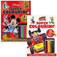 Combo Super Colouring - Mickey Mouse