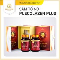 Viên uống đẹp da Sâm Tố Nữ Puecolazen Plus - Cân bằng nội tiết tố nữ/Ngăn lão hoá/Cải thiện sinh lý nữ/Đẹp da, mờ thâm nám