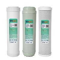 Combo 3 lõi lọc nước smy 1,2,3 - 10 inch | (ultra – loose – block)
