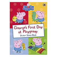 George's First Day at Playgroup Sticker Activity