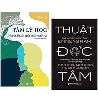 Combo 2 cuốn: Thuật đọc tâm + Tâm lý học- Nghệ thuật giải mã hành vi (Bộ sách giúp bạn nắm trọn tâm lý đối phương và làm chủ mọi cuộc đối thoại)