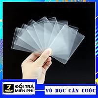 Set 10 Vỏ Bọc Thẻ Trong Suốt, Túi Đựng Thẻ Căn Cước Công Dân, Bằng Lái Xe, Thẻ Ngân Hàng, Bao Bọc Thẻ Đa Năng