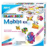 Màu Vẽ Trang Trí Trên Kính Mobile Kit AMOS AGD6 (10 Màu)