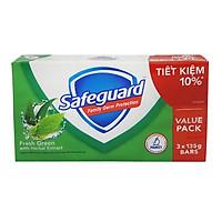 Xà Bông Cục Safeguard - Hương Nắng Mai (3 x 135g)