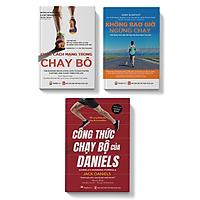 Sách - COMBO 3 cuốn Cuộc cách mạng trong chạy bộ + không bao giờ ngừng chạy + công thức chạy bộ của Daniels