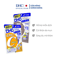Combo Viên uống DHC Ngăn Ngừa Mụn - Mờ Thâm (Kẽm ZinC+VitaminC)