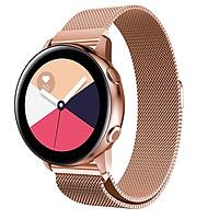 Dây Thép Lưới Nam Châm Milanese Loop Cho Galaxy Watch Active 2, Active 1, Galaxy Watch 42, Garmin, Ticwatch Pro, Gear S3 , Galaxy Watch 46
