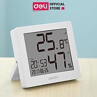 Nhiệt ẩm kế điện tử Deli - 8813