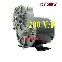 Motor giảm tốc 12V 500w có chổi than