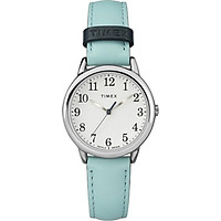 Đồng hồ Nữ Timex Women's Easy Reader Blue Leather Strap Watch TW2R62900MK - 30mm