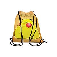 Túi Dây Rút Unisex In Hình Pikachu - BDMA121