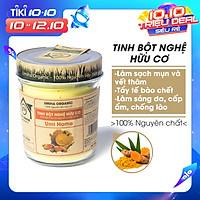 Tinh Bột Nghệ Nguyên Chất Umi Home (125g) Bột đắp mặt dưỡng da, cung cấp độ ẩm cho da, loại bỏ thâm nám hiệu quả