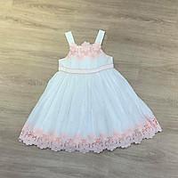 váy trắng hoa cho bé gái
