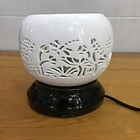 Đèn xông tinh dầu điêu khắc chuồn chuồn Lasante DDK-03