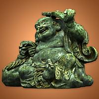 Tượng Phật Di Lặc gánh gậy như ý- DL131