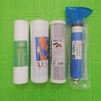 Bộ lõi lọc nước 1,2,3,4 dùng cho máy RO - Chính Hãng