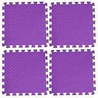Bộ 4 tấm Thảm xốp lót sàn an toàn Thoại Tân Thành - màu tím (50x50cm)
